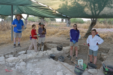 Summer archaeology field school