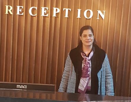 Noura Zaatre at the Galilee Hotel